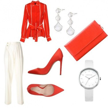 Outfit Rosso aranciato