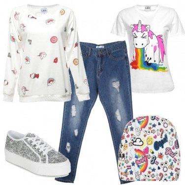 Outfit Unicorni-mania