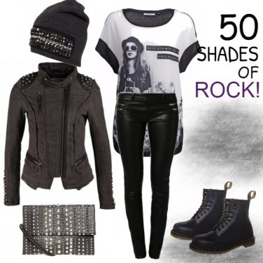 Outfit 50 SHADES OF ROCK