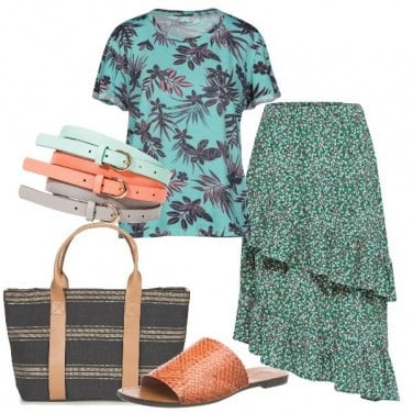 Outfit Mix floreale