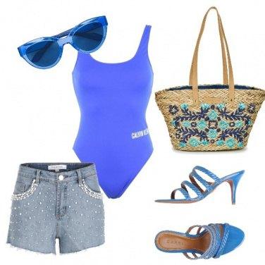 Outfit In spiaggia mi distinguo1906