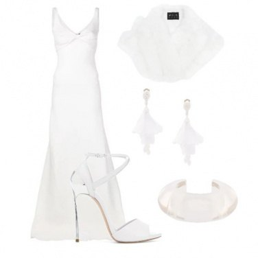 Outfit Sposa in bianco