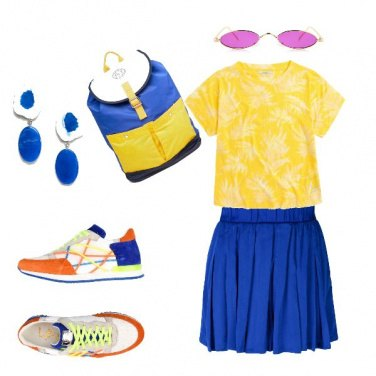 Outfit A tutto colore!!!!