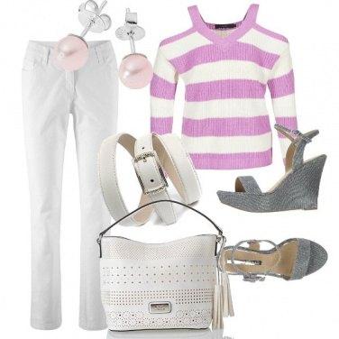 Outfit Quasi tutto bianco