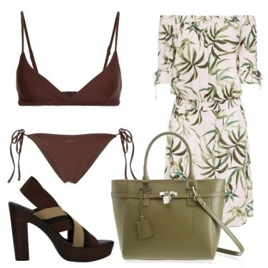 Outfit Stampa botanica