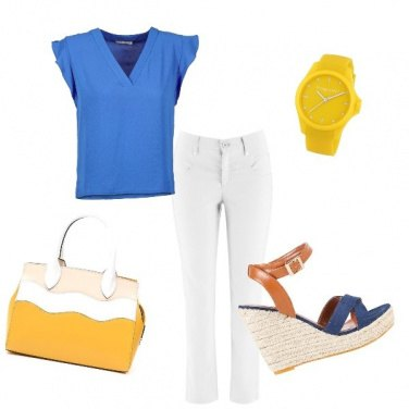Outfit Con i colori dell'estate addosso!