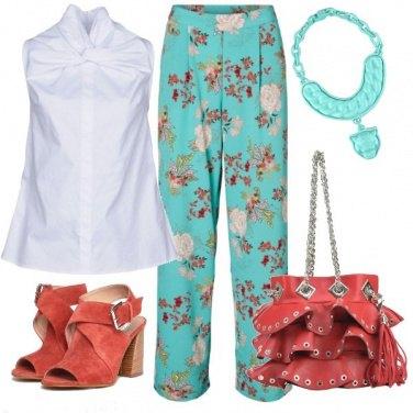Outfit Tessuto orientale