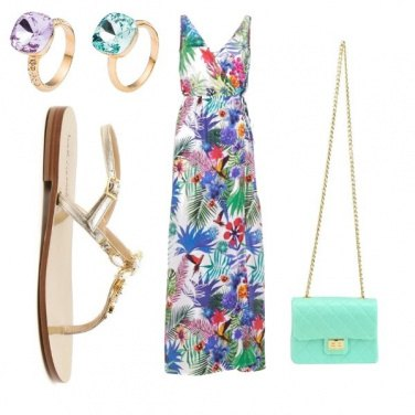 Outfit Flower power