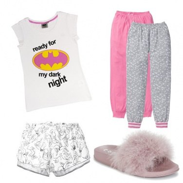 Outfit Lunga o corta...buonanotte!!!