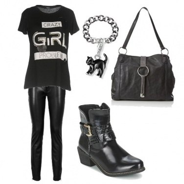 Outfit Hard rock