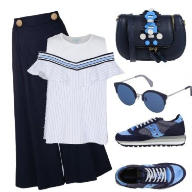Outfit In blu...