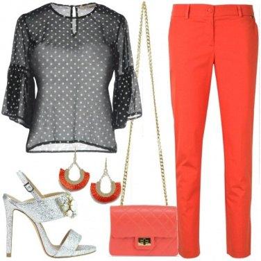 Outfit Seta e cotone