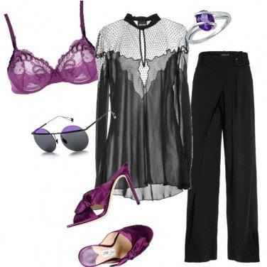 Outfit Sfumature di viola