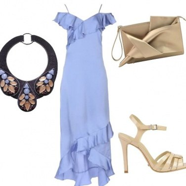 Outfit La collana che si fa notare