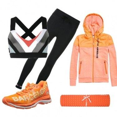 Outfit I love Orange