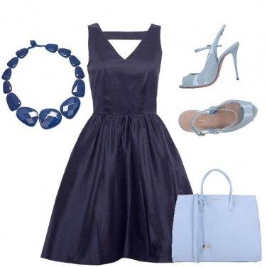 Outfit Nelle sfumature del blu
