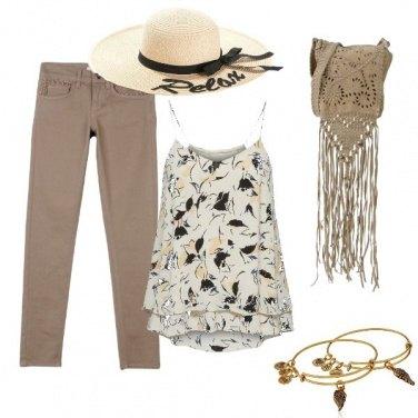 Outfit La mia borsa con le frange