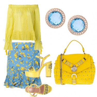 Outfit Look colorato