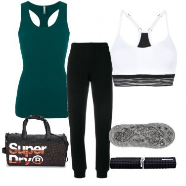Outfit Yoga day