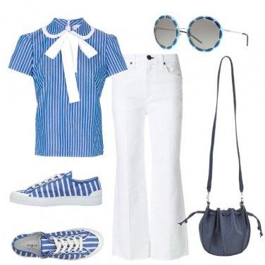 Outfit In ufficio pensando al mare