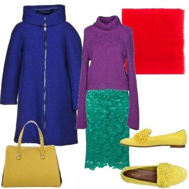 Outfit Rapsodia di un arcobaleno