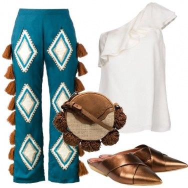 Outfit Serata etnica