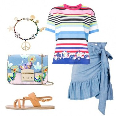 Outfit Rainbow inspiration
