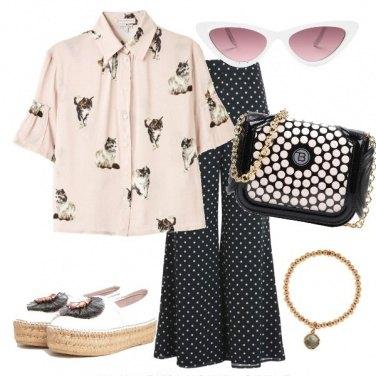 Outfit Gatti e pois