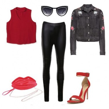 Outfit Red is passion!