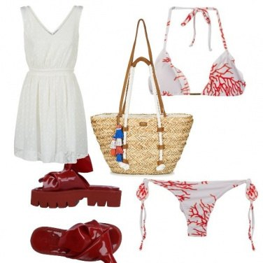 Outfit Coral beach