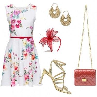 Outfit Colore e oro