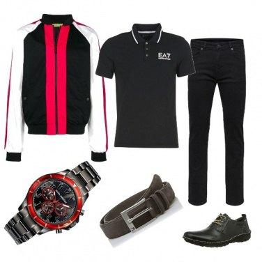 Outfit In moto la domenica. ...