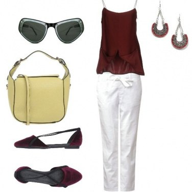 Outfit Competizione, woman in violet