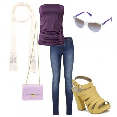 Outfit Funny violet