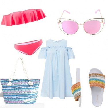 Outfit Colorful beach day