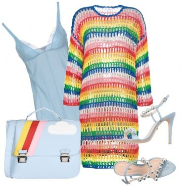 Outfit Rainbow and Unicorn