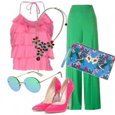 Outfit Arcobaleno pastello!