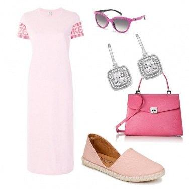 Outfit Rosa e fuxia ...