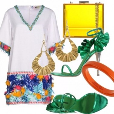 Outfit Tropical fun