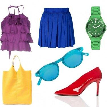 Outfit Previsioni multicolore