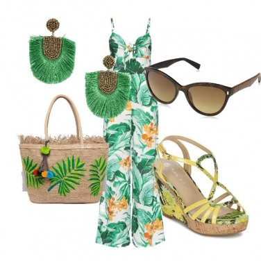 Outfit Look tropicale