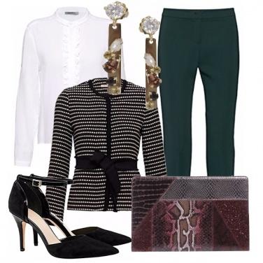 Outfit Blazer elegante