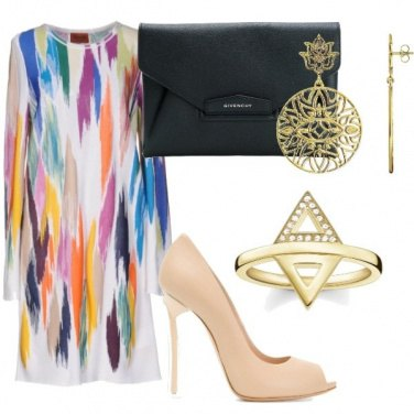 Outfit Luxury raimbow