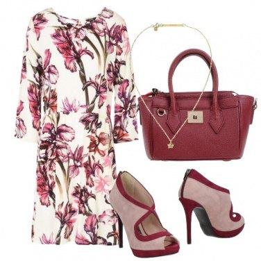 Outfit Un abito fiorito
