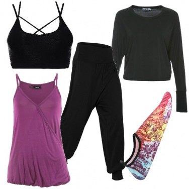 Outfit Yoga per stare bene