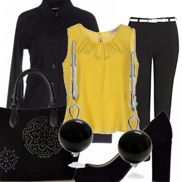 Outfit Giallo autunno