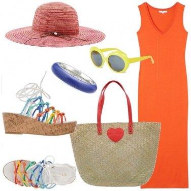 Outfit Super colorata