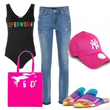 Outfit Rainbow look