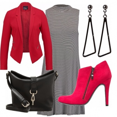 Outfit Rosso fiammante! Look in low.