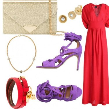 Outfit Donna in rosso